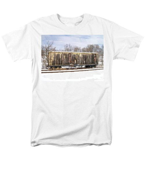 Men's T-Shirt  (Regular Fit) featuring the photograph Burnt by Sara  Raber