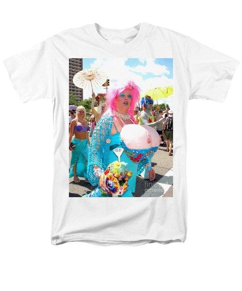 Men's T-Shirt  (Regular Fit) featuring the photograph Busty Mermaid by Ed Weidman