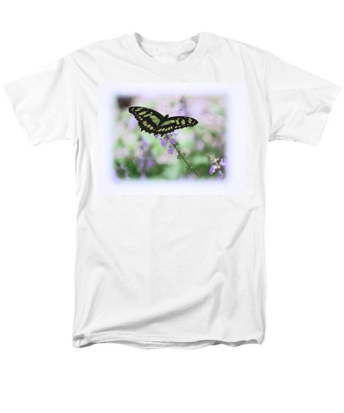 Men's T-Shirt  (Regular Fit) featuring the photograph Butterfly 8 by Leticia Latocki