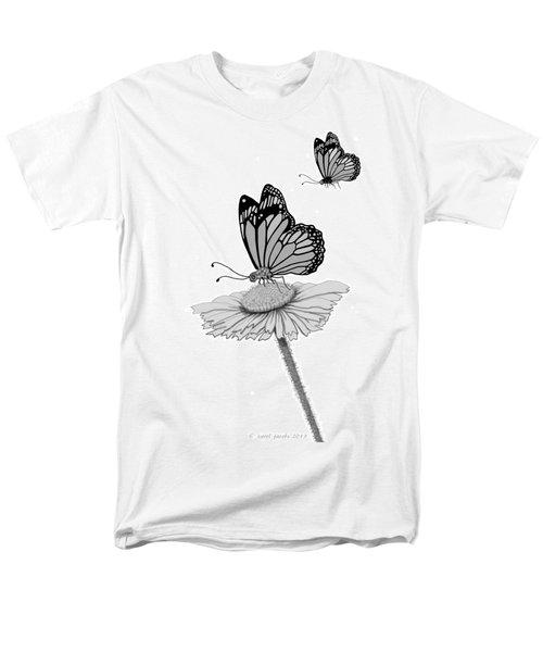 Men's T-Shirt  (Regular Fit) featuring the digital art Butterfly Friends by Carol Jacobs