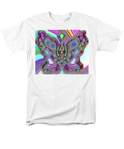 Butterfly Groove Men's T-Shirt  (Regular Fit) by Susan Kinney