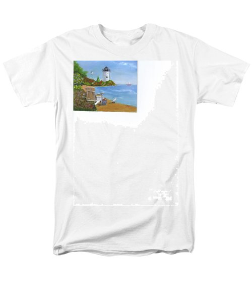 By The Shore Men's T-Shirt  (Regular Fit) by Catherine Swerediuk
