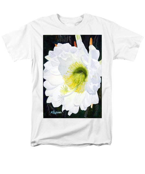 Cactus Flower II Men's T-Shirt  (Regular Fit) by Mike Robles