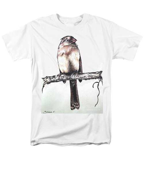 Cardinal Female Men's T-Shirt  (Regular Fit) by Katharina Filus