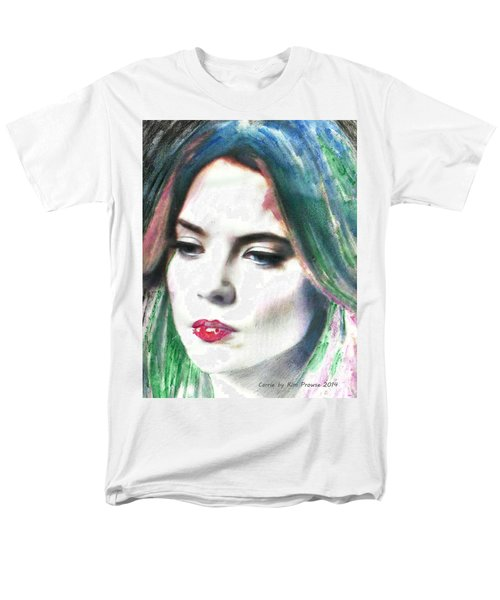Men's T-Shirt  (Regular Fit) featuring the digital art Carrie Stages by Kim Prowse