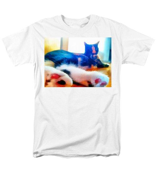Cat Feet Men's T-Shirt  (Regular Fit)