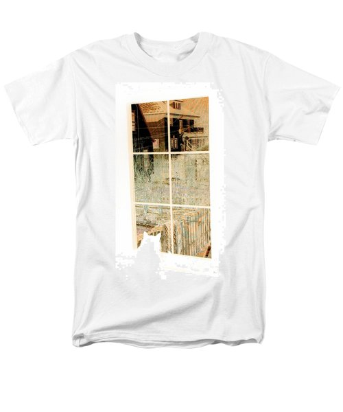 Men's T-Shirt  (Regular Fit) featuring the photograph Cat Perspective by Jacqueline McReynolds