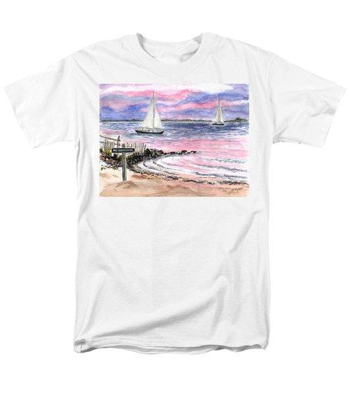 Cedar Beach Pinks Men's T-Shirt  (Regular Fit)