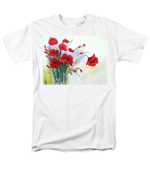 Men's T-Shirt  (Regular Fit) featuring the painting Charming by Dorothy Maier