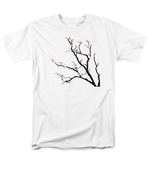 Cherry Blossoms Tree Men's T-Shirt  (Regular Fit) by Gina Dsgn