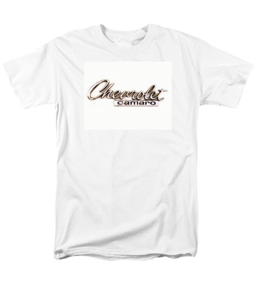 Chevrolet Camaro Emblem Men's T-Shirt  (Regular Fit) by Jerry Fornarotto