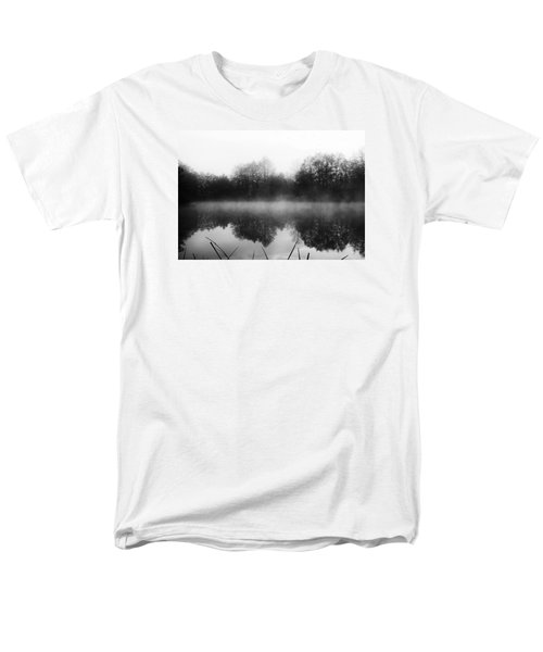 Chilly Morning Reflections Men's T-Shirt  (Regular Fit) by Miguel Winterpacht