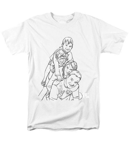 Christmas Tree Men's T-Shirt  (Regular Fit) by Olimpia - Hinamatsuri Barbu