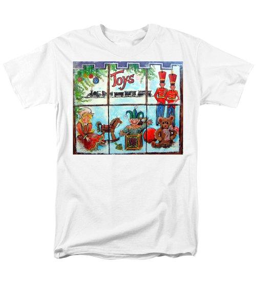 Christmas Window Men's T-Shirt  (Regular Fit)