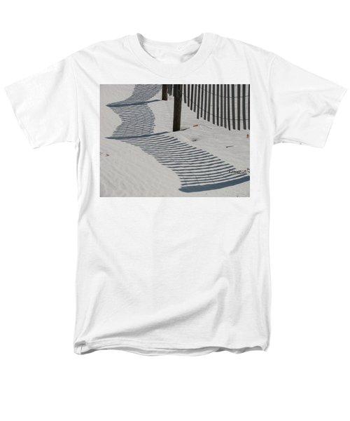Circus Beach Fence Men's T-Shirt  (Regular Fit) by Ellen Meakin