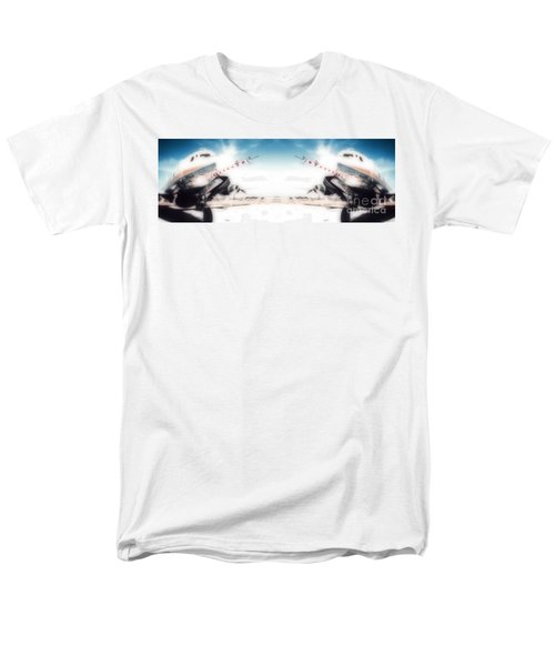 Men's T-Shirt  (Regular Fit) featuring the photograph Propeller Aircraft by R Muirhead Art