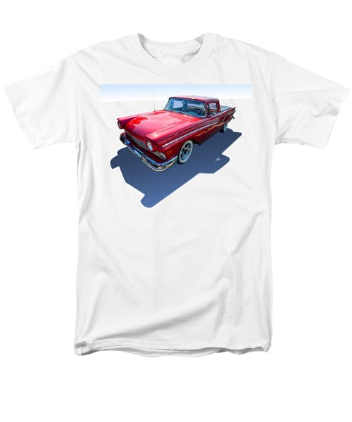 Men's T-Shirt  (Regular Fit) featuring the photograph Classic Red Truck by Gianfranco Weiss