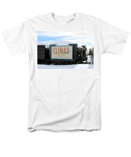 Men's T-Shirt  (Regular Fit) featuring the photograph Climax Colorado by Fiona Kennard