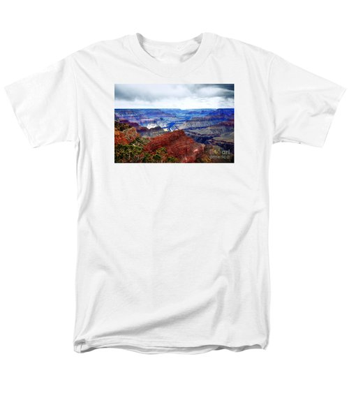 Cloudy Day At The Canyon Men's T-Shirt  (Regular Fit) by Paul Mashburn