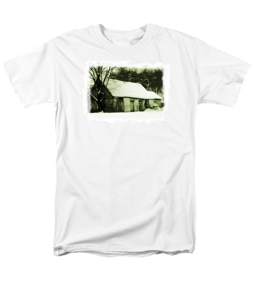Countryside Winter Scene Men's T-Shirt  (Regular Fit) by Nina Ficur Feenan