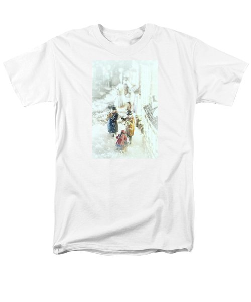 Concert In The Snow Men's T-Shirt  (Regular Fit) by Caitlyn  Grasso