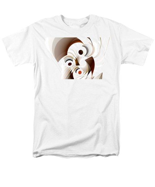 Confusion Men's T-Shirt  (Regular Fit) by GJ Blackman