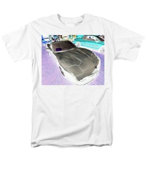 Men's T-Shirt  (Regular Fit) featuring the photograph Corvette 2003 50th Anniv. Edition by John Schneider