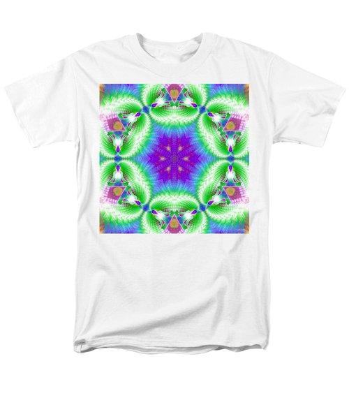 Cosmic Spiral Kaleidoscope 10 Men's T-Shirt  (Regular Fit)