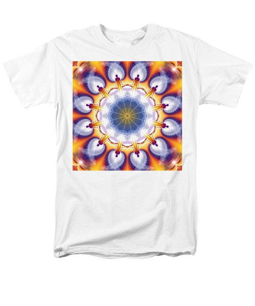 Cosmic Spiral Kaleidoscope 34 Men's T-Shirt  (Regular Fit)