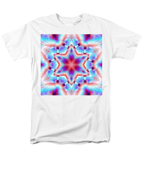 Cosmic Spiral Kaleidoscope 45 Men's T-Shirt  (Regular Fit)