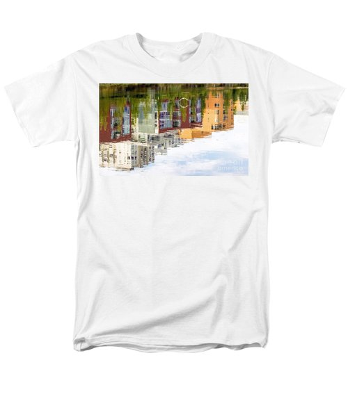 Men's T-Shirt  (Regular Fit) featuring the photograph Creekside Reflections by Kate Brown