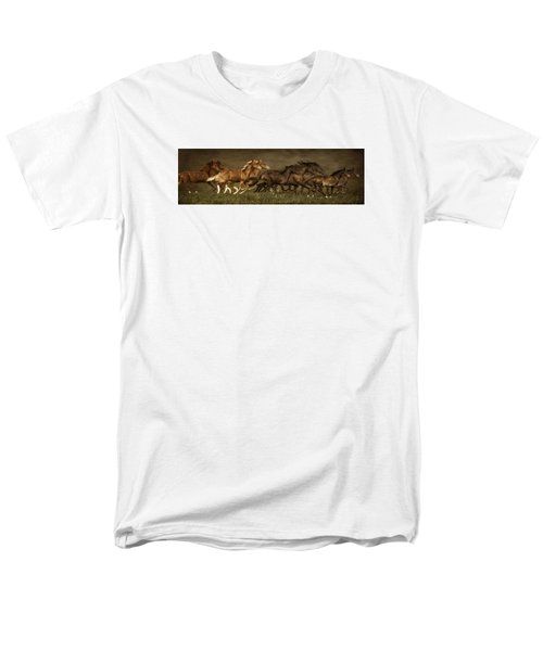 Men's T-Shirt  (Regular Fit) featuring the digital art Daily Double by Priscilla Burgers