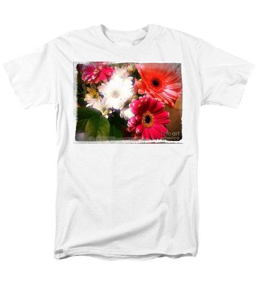 Daisy January Men's T-Shirt  (Regular Fit) by Meghan at FireBonnet Art