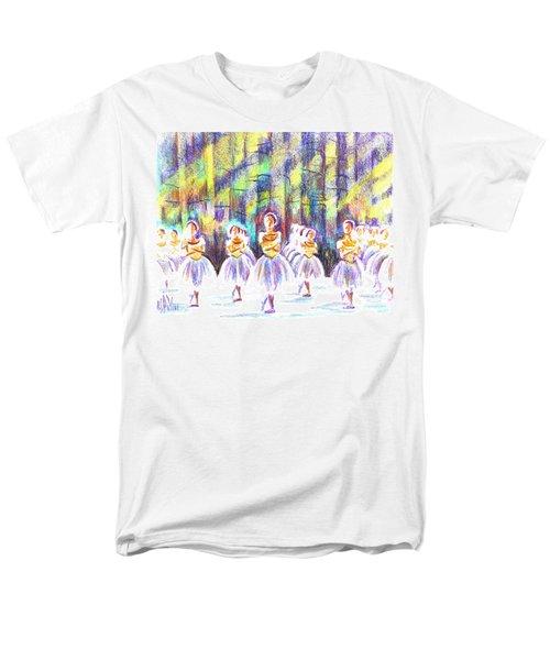 Dancers In The Forest Men's T-Shirt  (Regular Fit) by Kip DeVore
