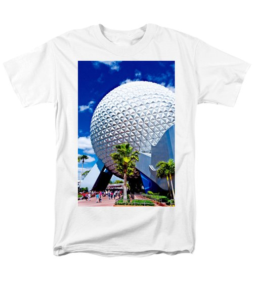 Daylight Dome Men's T-Shirt  (Regular Fit) by Greg Fortier