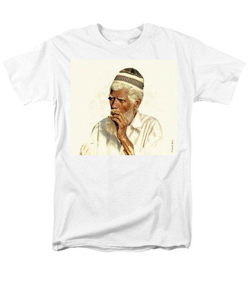 De-escalation Men's T-Shirt  (Regular Fit) by Prakash Ghai