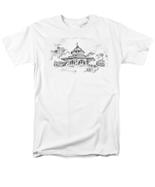 Decatur Transfer House Men's T-Shirt  (Regular Fit) by Scott and Dixie Wiley
