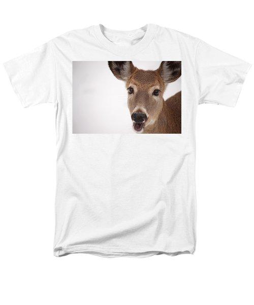 Deer Talk Men's T-Shirt  (Regular Fit) by Karol Livote