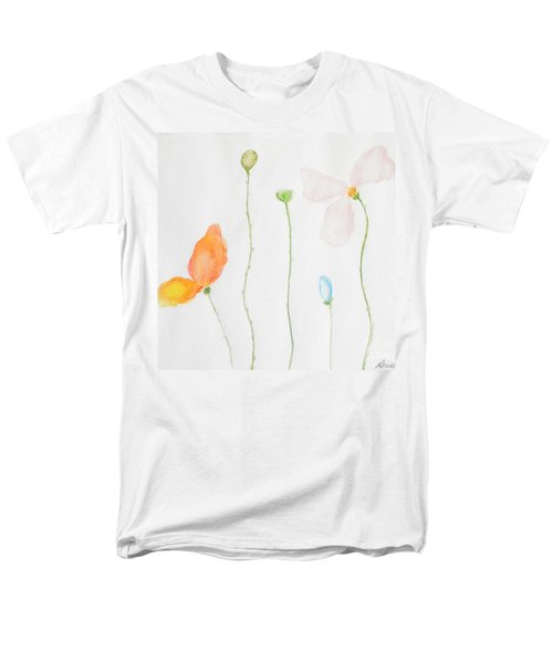 Men's T-Shirt  (Regular Fit) featuring the painting Delicate  by Reina Resto