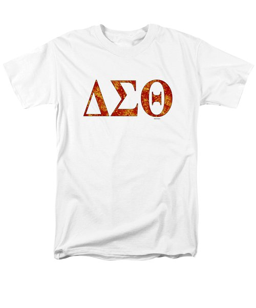 Delta Sigma Theta - White Men's T-Shirt  (Regular Fit) by Stephen Younts