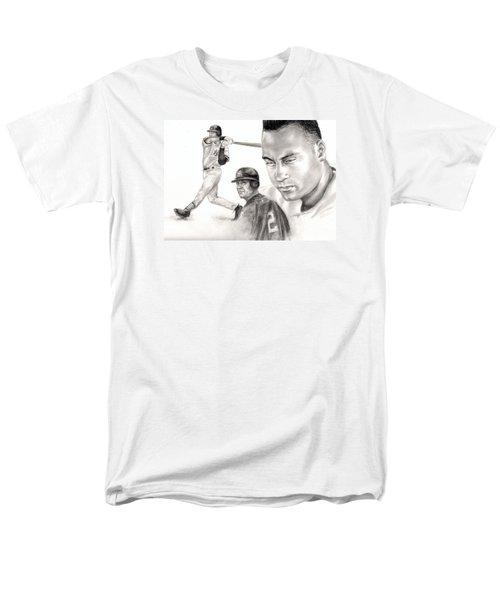 Derek Jeter Men's T-Shirt  (Regular Fit) by Kathleen Kelly Thompson