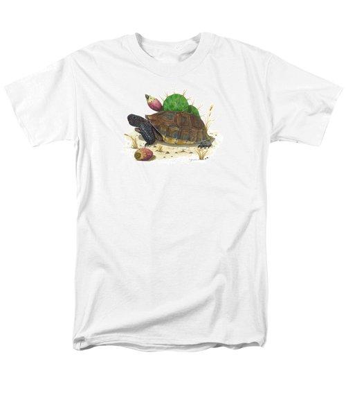 Desert Tortoise Men's T-Shirt  (Regular Fit) by Cindy Hitchcock