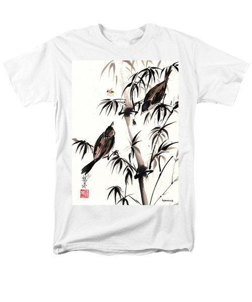Men's T-Shirt  (Regular Fit) featuring the painting Dibs by Bill Searle