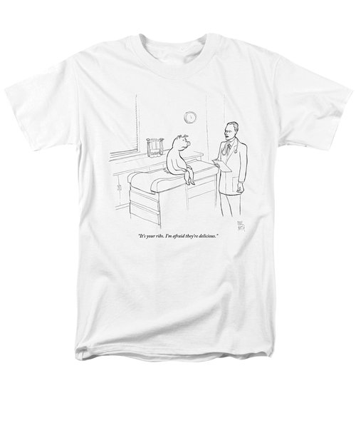 Doctor To Pig Men's T-Shirt  (Regular Fit) by Paul Noth
