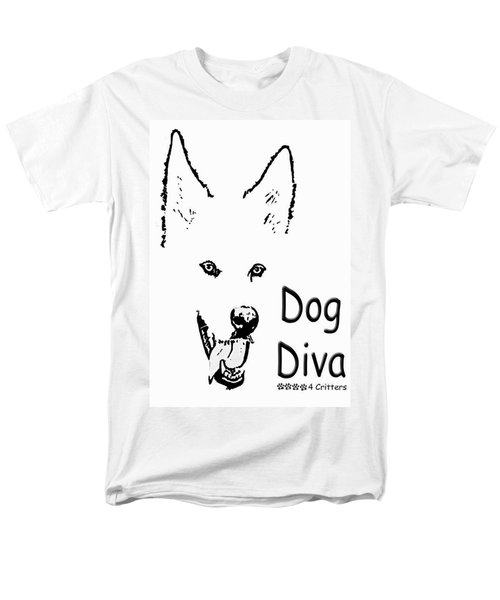 Men's T-Shirt  (Regular Fit) featuring the photograph Dog Diva by Robyn Stacey