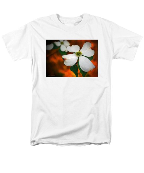 Dogwood Blossom Men's T-Shirt  (Regular Fit) by Brian Wallace