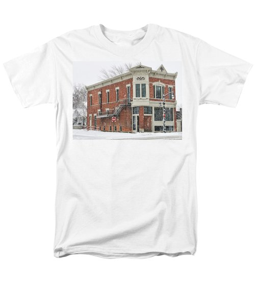Downtown Whitehouse  7031 Men's T-Shirt  (Regular Fit) by Jack Schultz