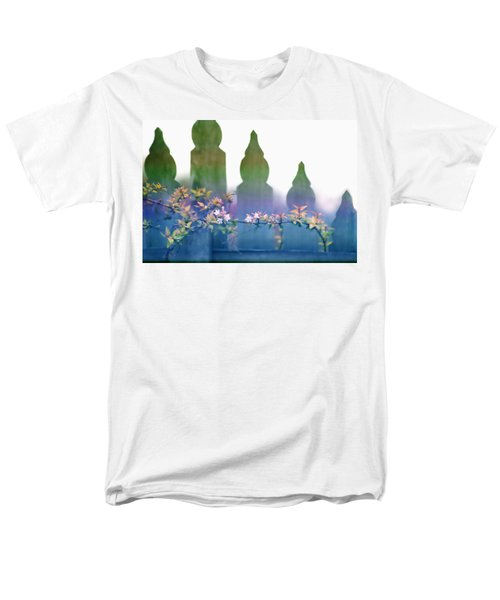 Dreams Of A Picket Fence Men's T-Shirt  (Regular Fit) by Holly Kempe