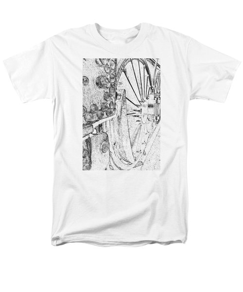 Drive Wheels Dm  Men's T-Shirt  (Regular Fit) by Daniel Thompson