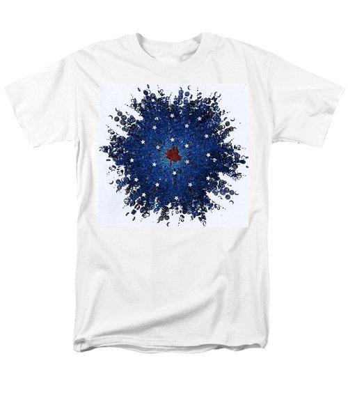 Dual Citizenship 1 Men's T-Shirt  (Regular Fit) by First Star Art